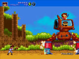 Gunstar Heroes Windows Finally, the stage boss