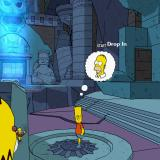 The Simpsons Game PlayStation 2 One of the early levels. The game conveniently tells you which character or which ability you need to solve the very easy puzzle