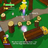 The Simpsons Game PlayStation 2 Lisa uses her Hand of Buddha ability to lift heavy objects