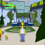 The Simpsons Game PlayStation 2 Entrance to Matt Groening's mansion! It is well protected by his lawyers!