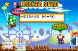 Game & Watch Gallery 4 Game Boy Advance The message board shows you different things like hints and tricks for the game