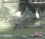 Shadow of the Colossus PlayStation 2 Colossi have different personalities - some are more aggressive than others. This animal will brutally attack the moment I land there