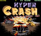Hyper Crash Arcade Title Screen.