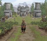 Suikoden III PlayStation 2 Great view of Chisha Village