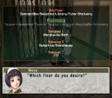 Suikoden III PlayStation 2 If you recruit the right characters, you'll gain quite a lot of services and activities in your castle! Choose your poison, boss!..