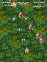 Sorcer Striker Arcade Game starts