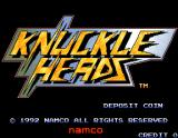 Knuckle Heads Arcade Title screen