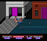 Target: Renegade NES Sweep kick is your best choice in this game