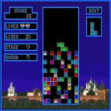 Tetris Sharp X68000 Playing on the max level (stage 9, round 5)