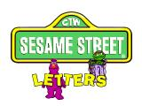 Sesame Street: Letters Windows The game's title screen