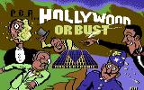 Hollywood or Bust Commodore 64 Loading Screen.