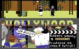 Hollywood or Bust Commodore 64 Hit the guard with a custard pie.