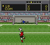 Nippon Daihyō Team: Eikō no Eleven Game Boy PK. Will it be a goal? You'll never know.