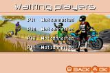 Moto Racer Advance Game Boy Advance The multiplayer lobby