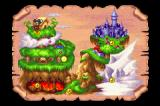 Disney's Magical Quest Starring Mickey & Minnie Game Boy Advance The World Map