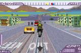 Moto Racer Advance Game Boy Advance A jump in San Francisco in the Traffic mode