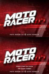 Moto Racer DS Nintendo DS Title screen
