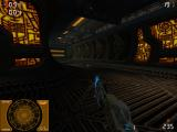 Aliens Versus Predator 2: Primal Hunt Windows Walking through Predator ruins (Dunya uses a 360° radar)