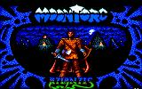 Moontorc Amstrad CPC Loading Screen.