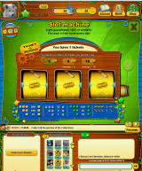 Color Cross Online Browser The slot machine with fortune tickets