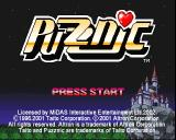 Puzznic PlayStation The game's Start screen. Before the 'Press Start' text is displayed the game offers the chance to load saved data.