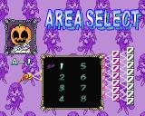 Puzznic PlayStation Having selected a ball there's a further level of selection to go through. There are eight puzzles per character in the story mode and this selects one of the eight pumpkin level puzzles