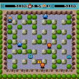 Bomberman Sharp X68000 Second stage - Rocky Mountains, that Vest renders you invincible to bomb blasts for a short period of time