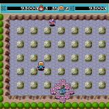 Bomberman Sharp X68000 Round 2 boss Bubbles