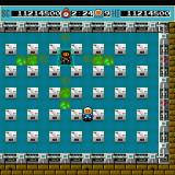 Bomberman Sharp X68000 Now just the Black Bomberman remains, who teleports around and does this fart attack