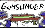 Gunslinger Commodore 64 Loading Screen.