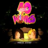 40 Winks PlayStation The game's title screen