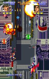 Mazinger Z  Arcade First explosions