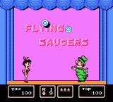 Barker Bill's Trick Shooting NES Flying Saucers