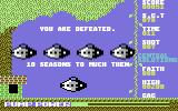 Groovy Garden Commodore 64 Game Over.