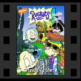 Rugrats: Studio Tour PlayStation The game's title screen