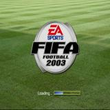 FIFA Soccer 2003 PlayStation The game's title and load screen. After this there's a video montage showing Ryan Giggs, Edgar Davids and whatshisname showcasing their football skills