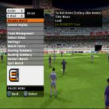 FIFA Soccer 2003 PlayStation The match can be paused by pressing START. This allows the player to change team tactics and much more.