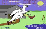 Gertie Goose Commodore 64 Loading Screen.