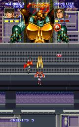 Mazinger Z  Arcade Boss fight