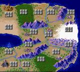 Gaiflame TurboGrafx-16 World map