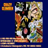 Video Game: Anthology - Vol. 5: Crazy Climber / Crazy Climber 2 Sharp X68000 Crazy Climber title screen