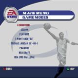 NBA Live 2002 PlayStation The game's main menu. The background picture changes each time the player comes here