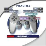 NBA Live 2002 PlayStation While the practice session loads the game reminds the player of the controller setup. 