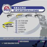 NBA Live 2002 PlayStation The NBA Live Challenge. These are a series of achievements that the player can enable when playing a match.