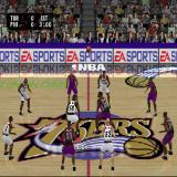 NBA Live 2002 PlayStation The start of an Exhibition match. Before this there's an animation showing the players entering, shaking hands and fist bumping in a generally sportsman-like way