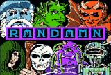 Randamn Apple II Title screen