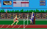 Arena Atari ST The final of the Hundred meters.