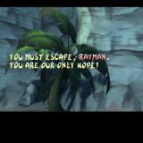 Rayman 2: The Great Escape PlayStation 2 Starting a new game. After entering their name the player is shown an animation which sets the scene. 