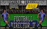 Football Director II Atari ST Title screen