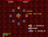 Baraduke Sharp X68000 At the end of a level, there is a roulette style mini game